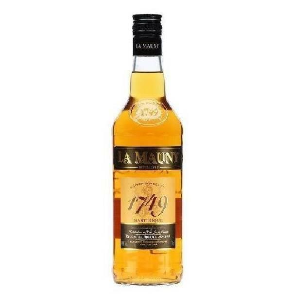 la mauny la mauny 1749 rhum agricole ambre' martinique invecchiato in botti di rovere 70cl