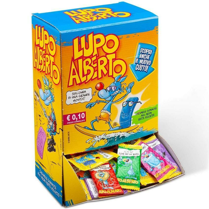 gelco gelco lupo alberto caramelle gommose  (200pz)