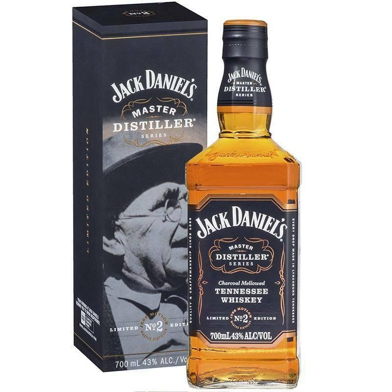 jack daniel's jack daniel's master distiller series limited n.2 70 cl in astuccio