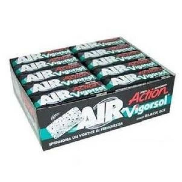 vigorsol vigorsol air black senza zucchero 40 pz