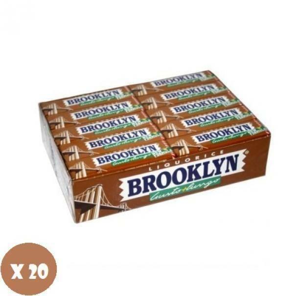 brooklyn brooklyn liquorice 20 pz