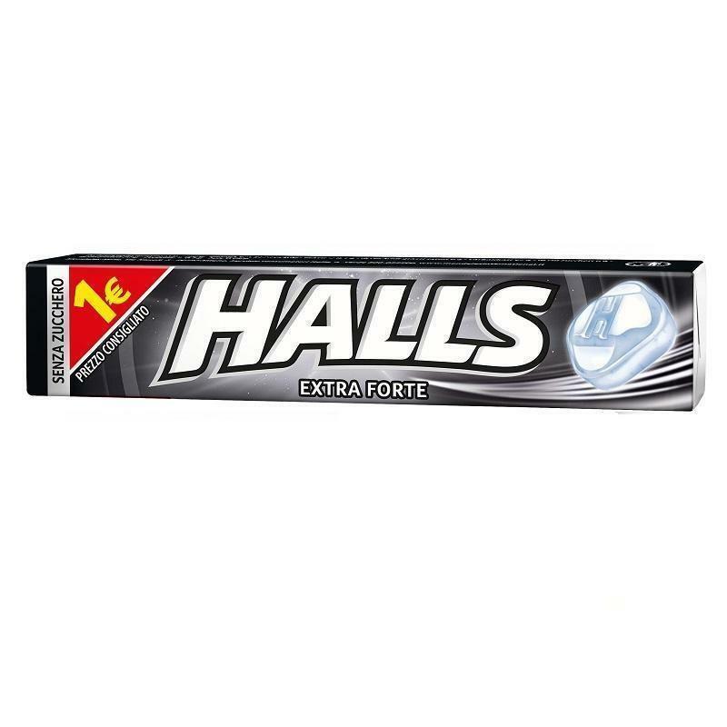 halls halls extra forte senza zucchero 20 pz
