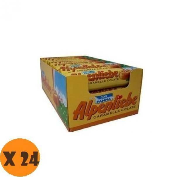 alpenliebe alpenliebe original caramel con panna 24 pz