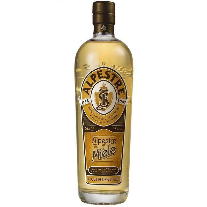 alpestre alpestre liquore di 34 erbe officinali e miele 70 cl