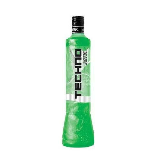 artic artic vodka techno green mela verde 70 cl
