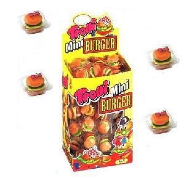 trolli trolli mini burgher caramelle gommose 100 pz