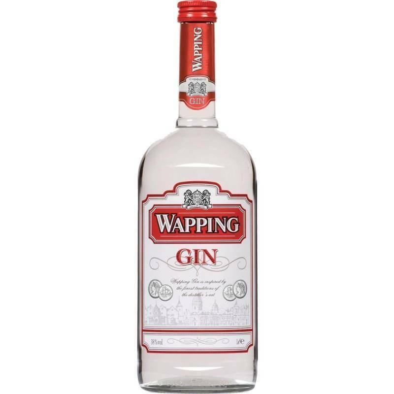 wapping wapping london dry gin 1 litro