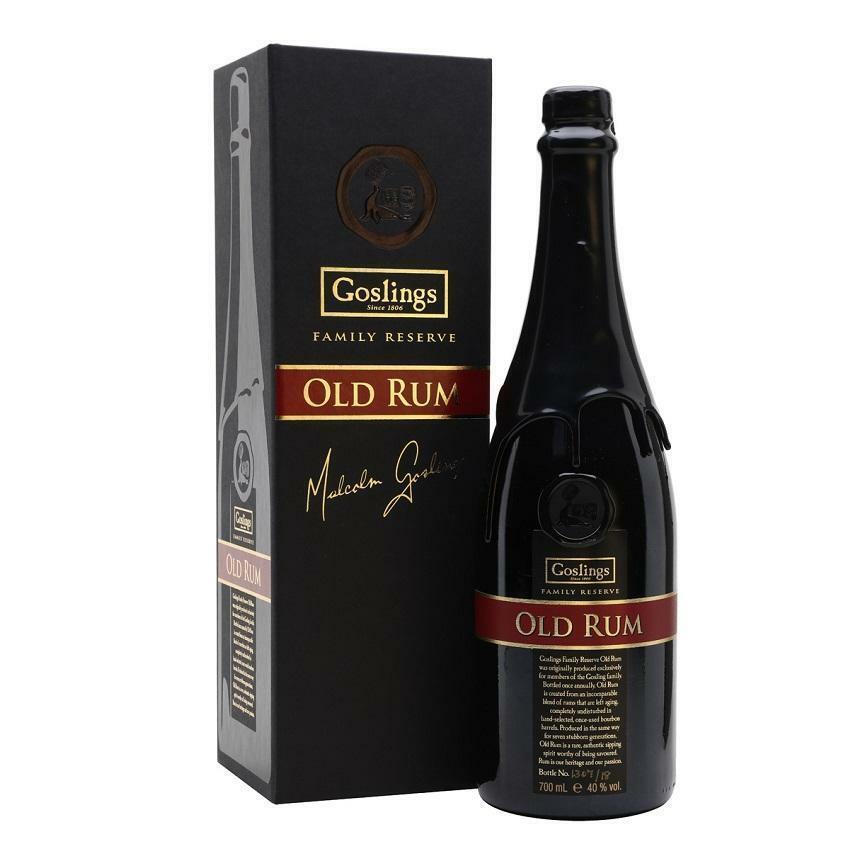 gosling's gosling's old rum 70 cl in astuccio