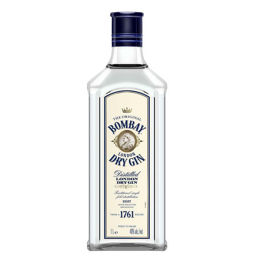 bombay bombay london dry gin 1 litro