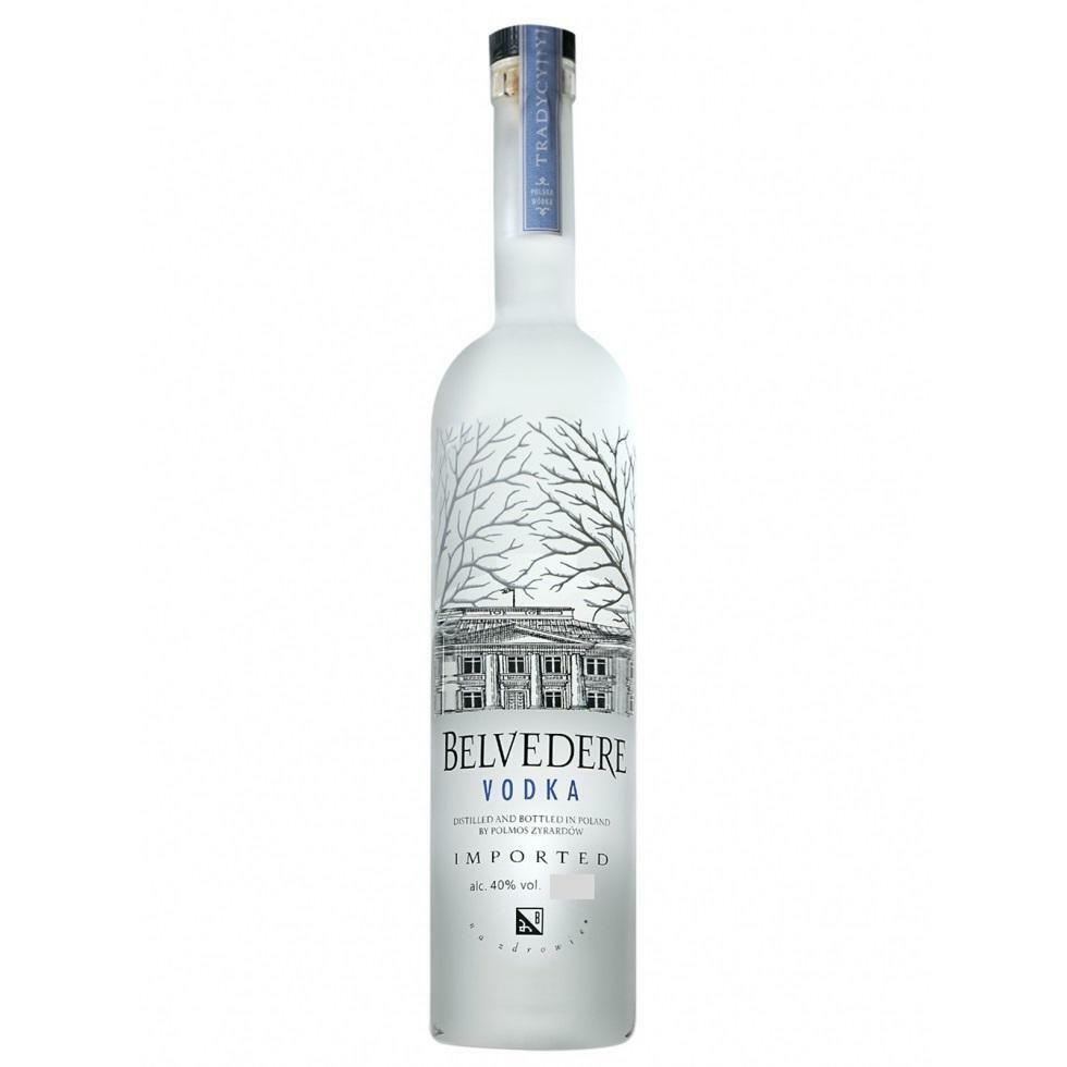 belvedere belvedere vodka 1 litro