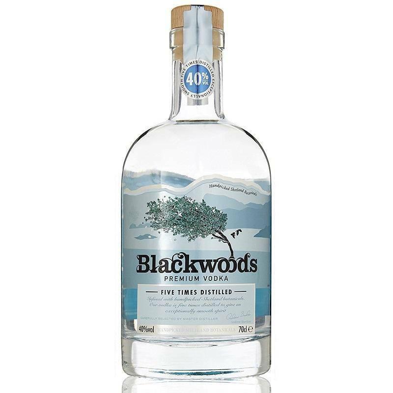 blackwood's blackwood's premium vodka five times distilled 70 cl