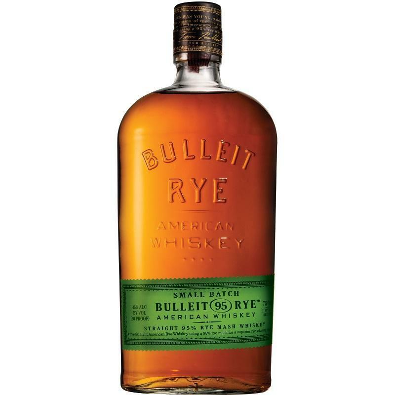 bulleit bulleit whiskey rye small batch 70 cl