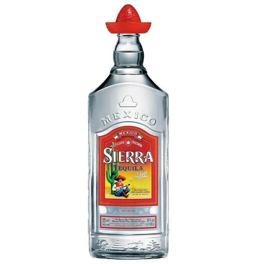 sierra sierra tequila silver 1 litro