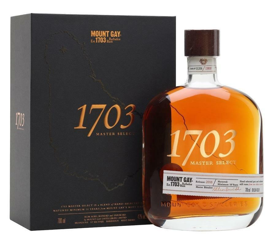 mount gay mount gay rum barbados 1703 old cask selection 70 cl (in astuccio)