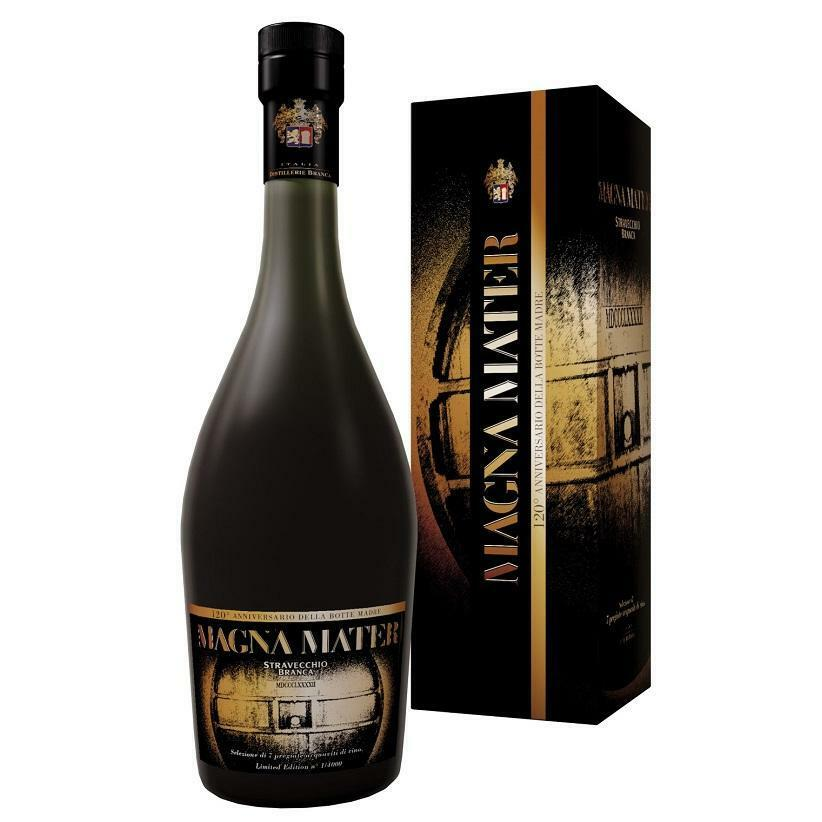 branca branca stravecchio magna mater limited edition in astuccio 70 cl