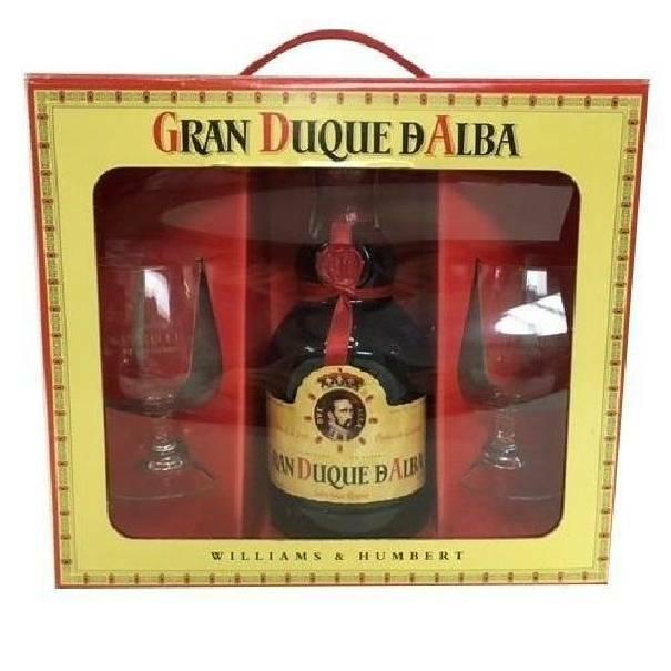 gran duque d'alba gran duque d'alba brandy solera gran reserva 70 cl confezione regalo