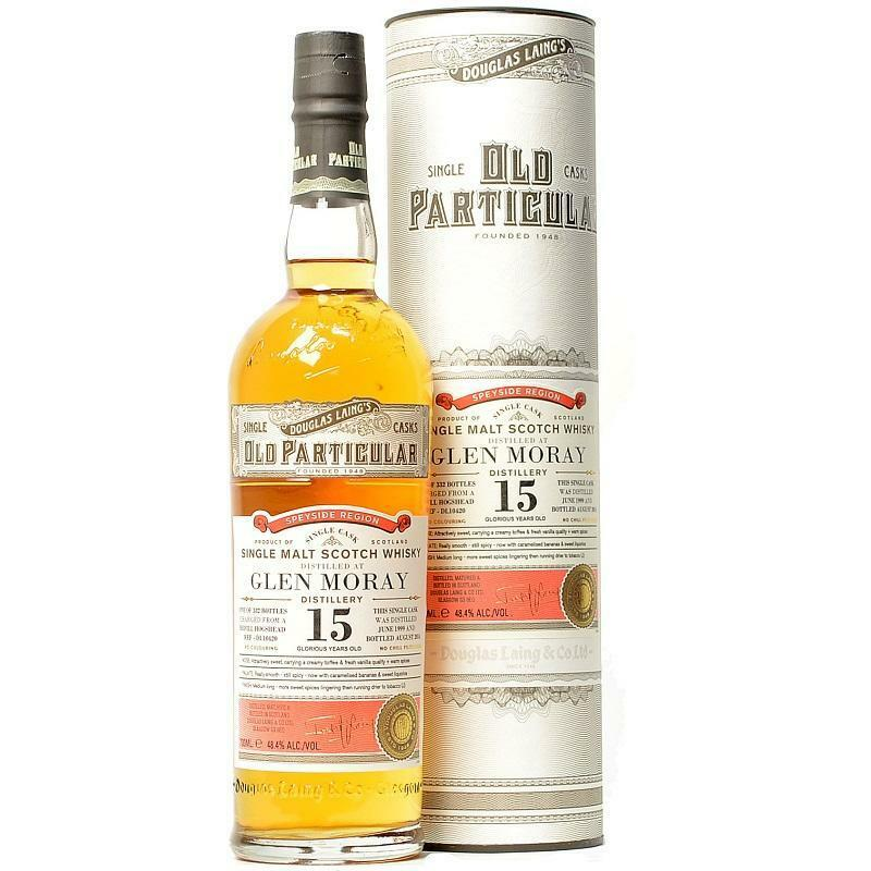 douglas laing's douglas laing's old particular cragganmore aged 15 years single malt scotch whisky 70 cl