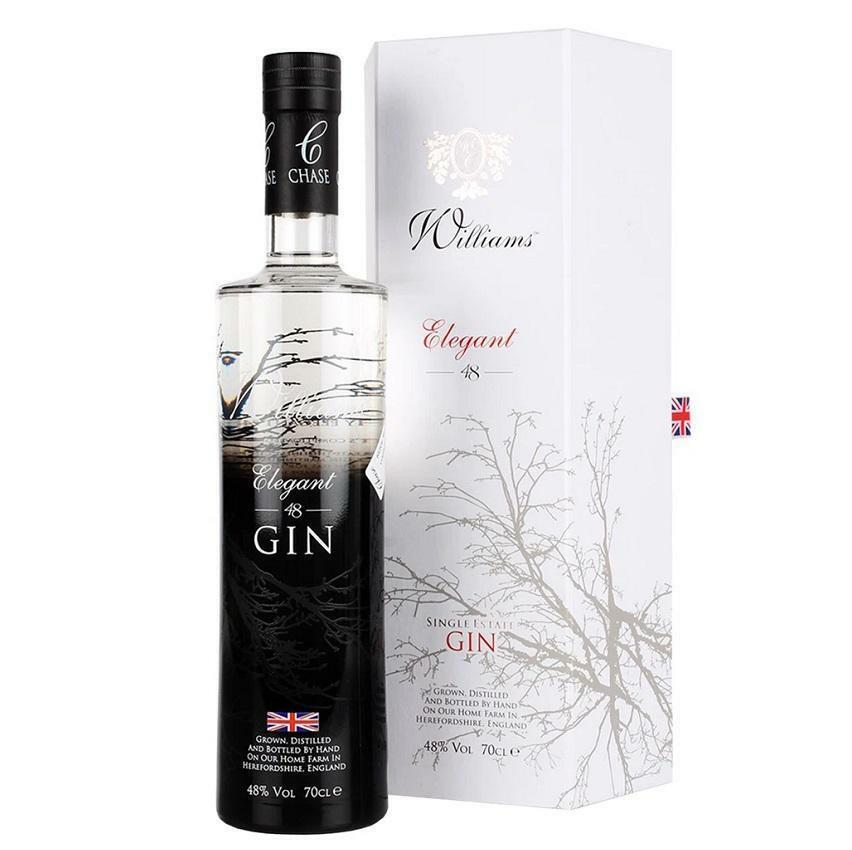 williams chase distillery williams chase distillery elegant 48 gin 70 cl in astuccio