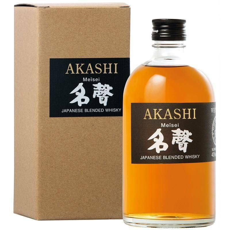akashi akashi japanese blended whisky meisei white oak 50 cl