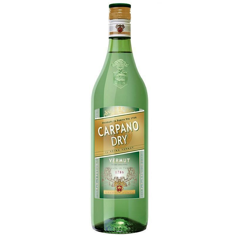 carpano carpano vermouth dry antica ricetta  1 litro