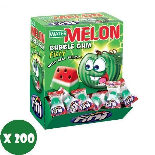 fini fini gomme water melon 200 pz