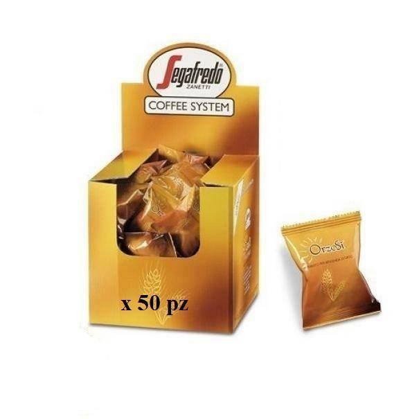 segafredo zanetti segafredo zanetti 50 capsule orzo orzosi' coffee system