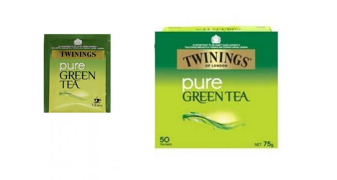twinings twinings pure green tea 50 filtri