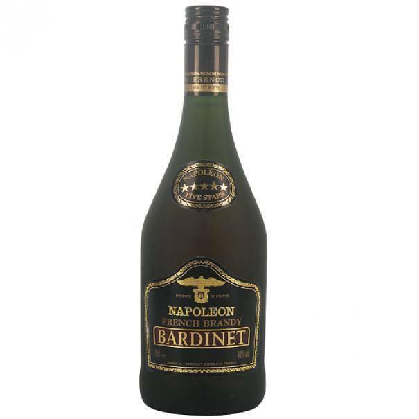 bardinet bardinet napoleon french brandy vsop bordeaux 70 cl
