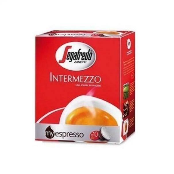 segafredo zanetti segafredo zanetti 60 capsule my espresso intermezzo