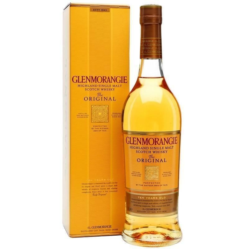 glenmorangie glenmorangie 10 anni highland single malt scotch whisky the original 1 litro in astuccio