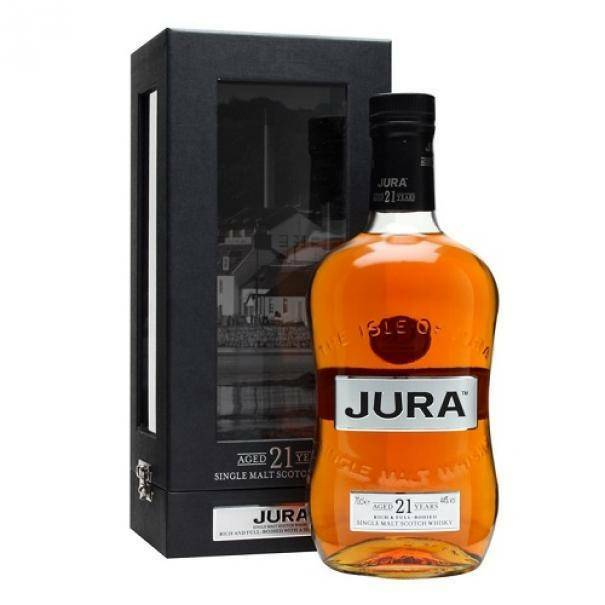 jura jura 21 years single malt scotch whisky 70 cl in astuccio