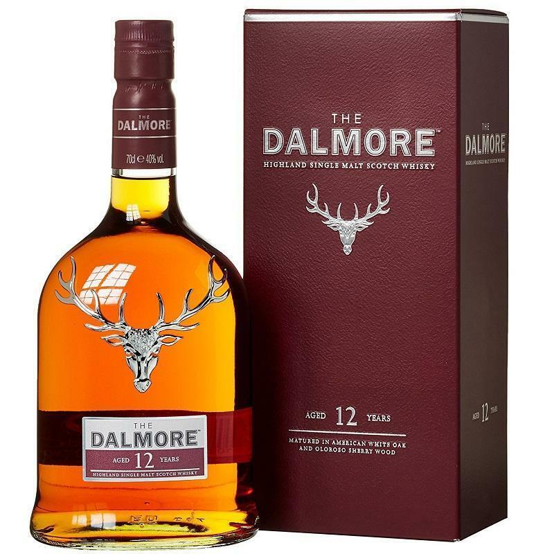 dalmore dalmore 12 years single malt scotch whisky 70 cl in astuccio