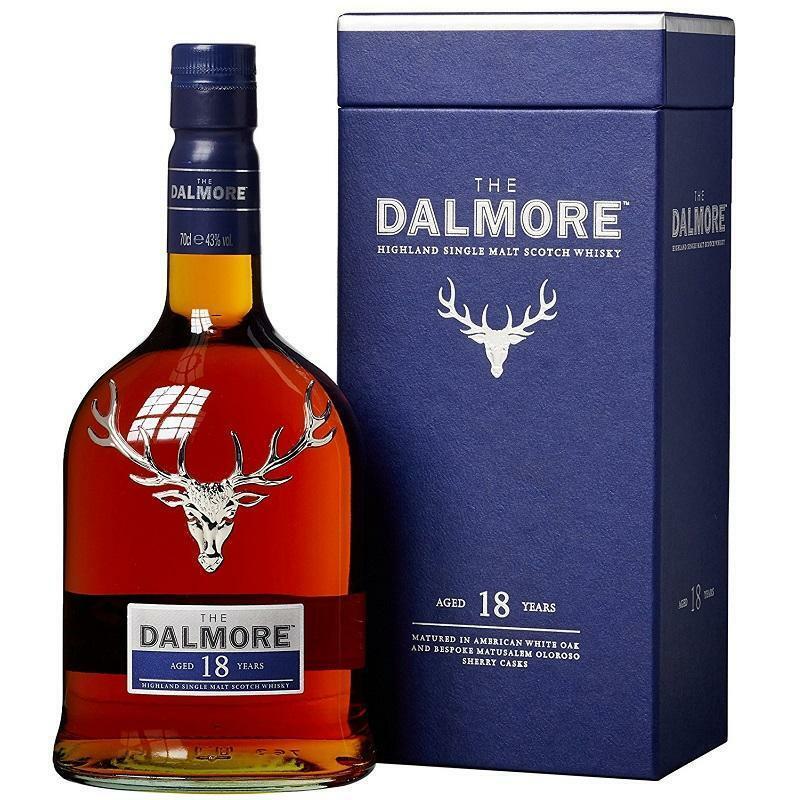 dalmore dalmore 18 years single malt scotch whisky 70 cl in astuccio