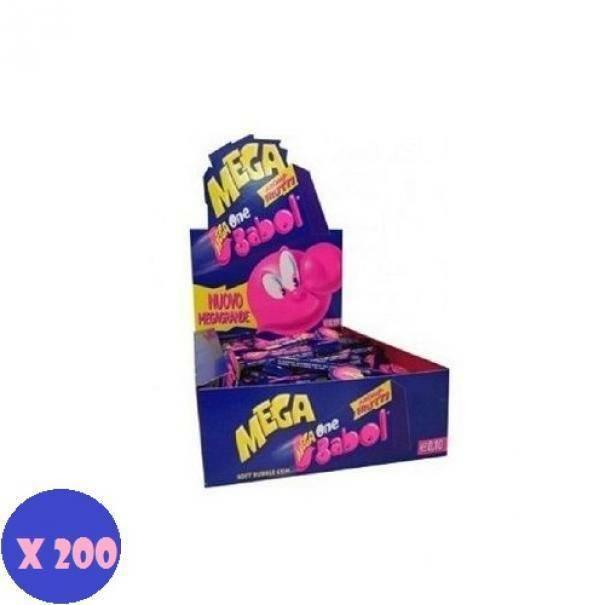big babol big babol one tutti frutti 200 pz