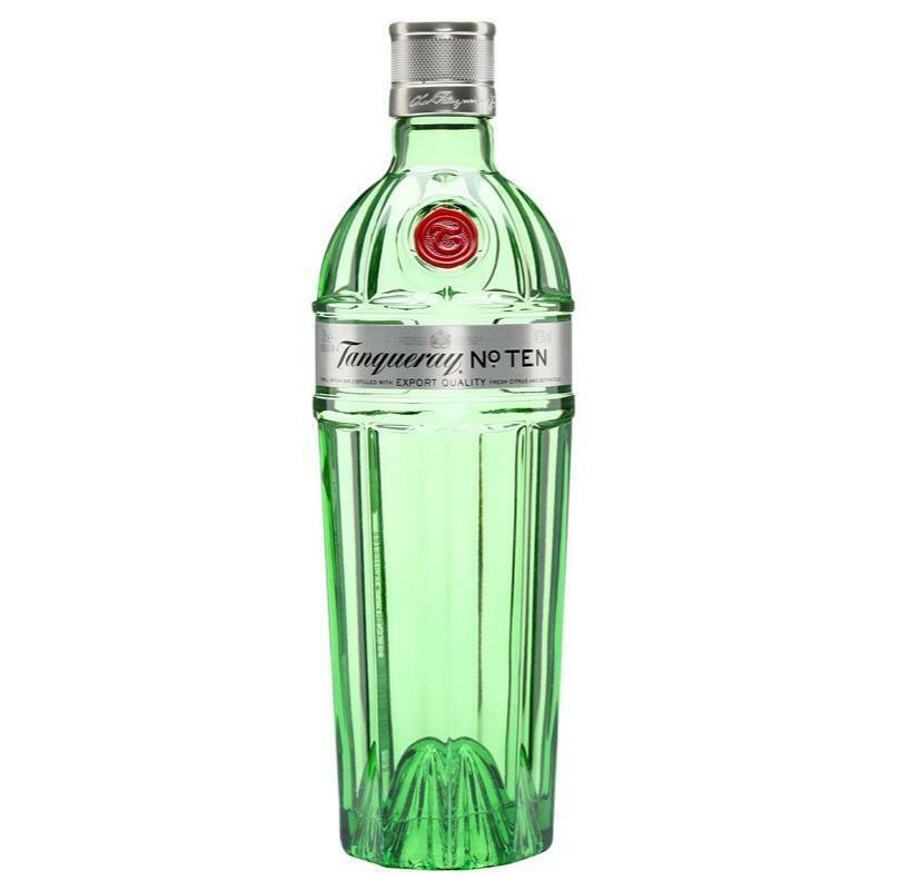 tanqueray tanqueray gin n. ten 1 litro