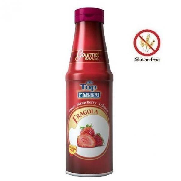 fabbri fabbri topping fragola 950g senza glutine