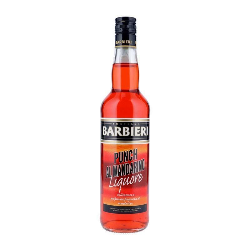 barbieri barbieri liquore punch al mandarino 1 litro