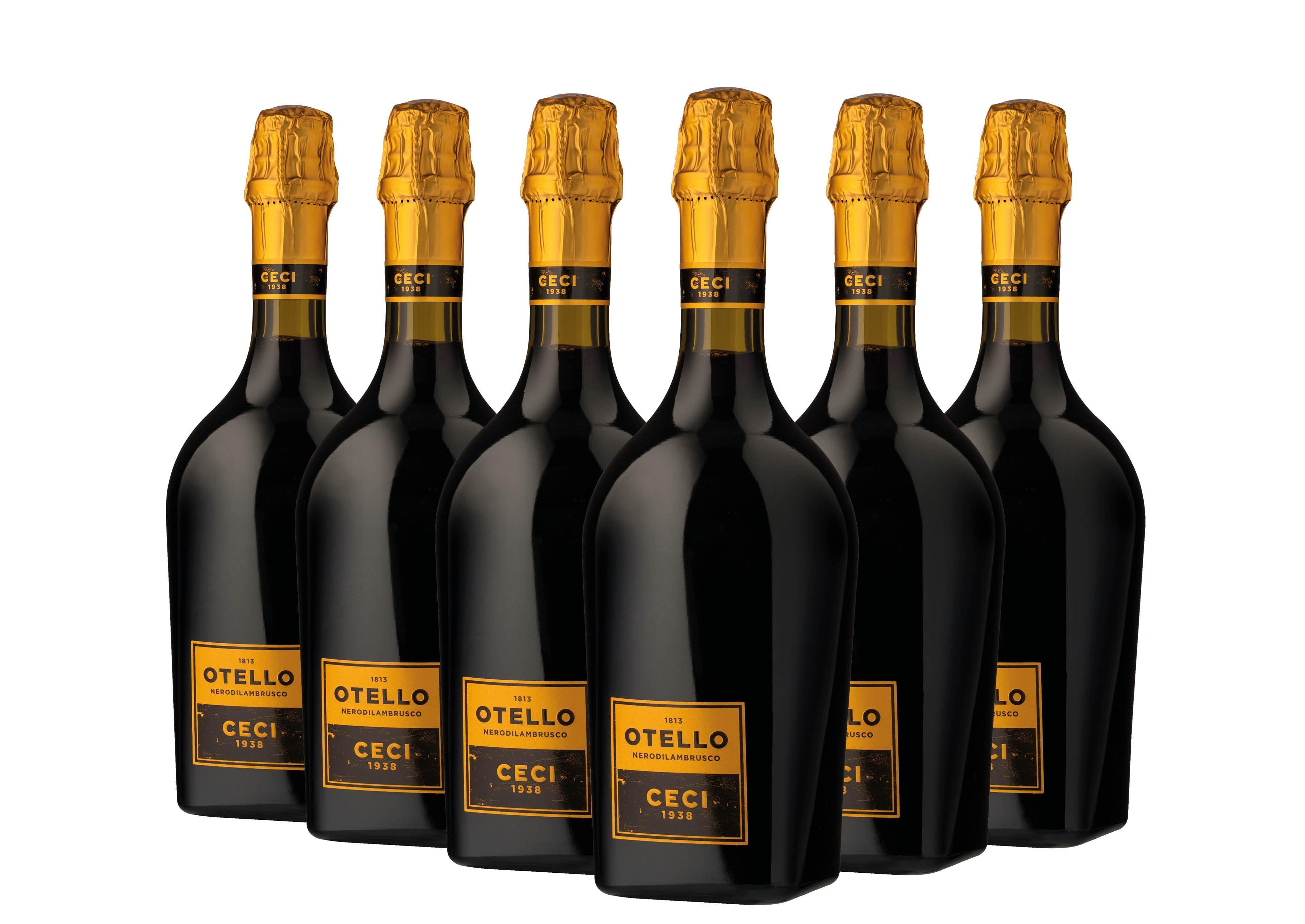 cantine ceci cantine ceci otello nero di lambrusco emilia igt 75 cl 6 bottiglie