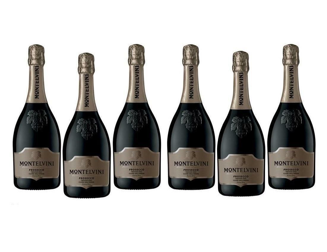 montelvini montelvini prosecco treviso doc cuvee dell' erede extra dry 75 cl (6 bottiglie)