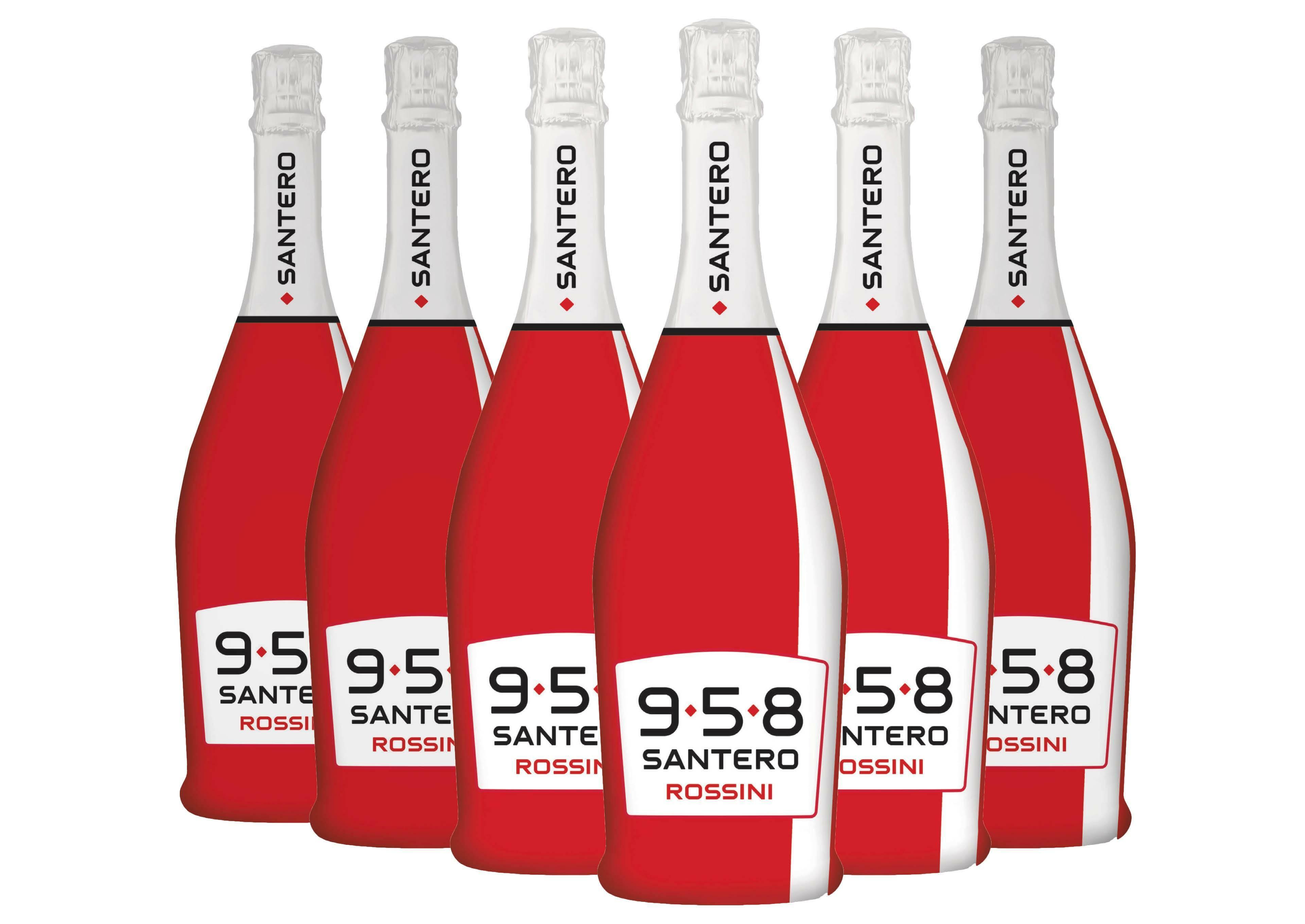 santero santero 958 rossini moscato e fragola 75 cl 6 bottiglie