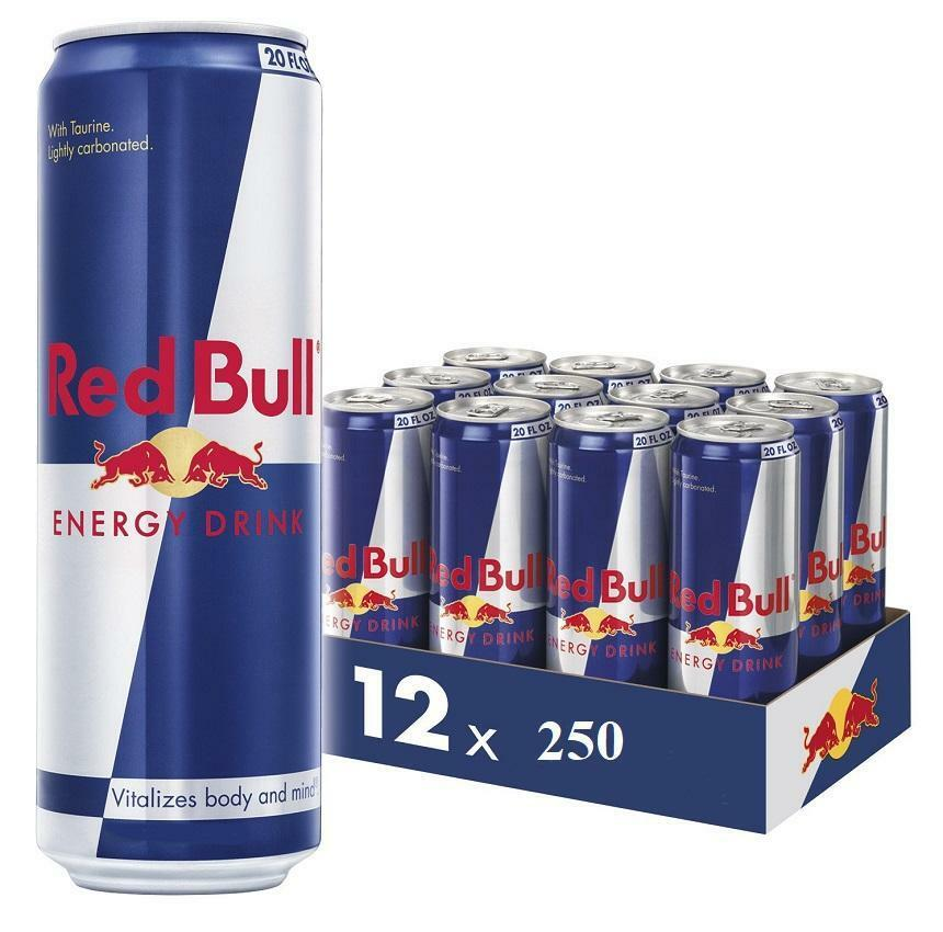 red bull red bull energy drink 250 ml 12 pz