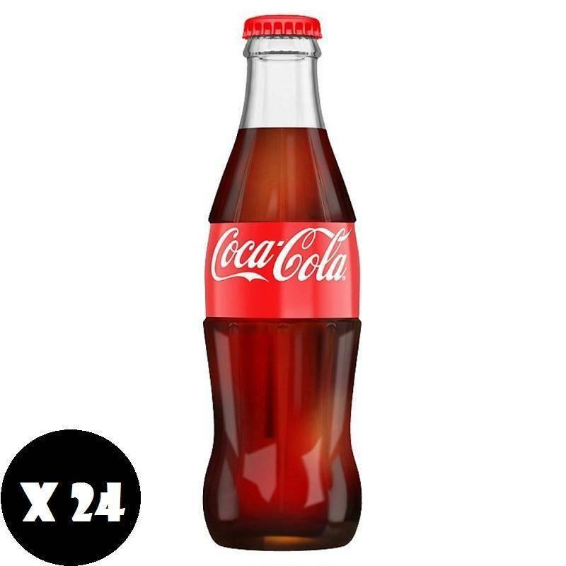 coca cola coca cola classica vetro 33 cl (24pz)