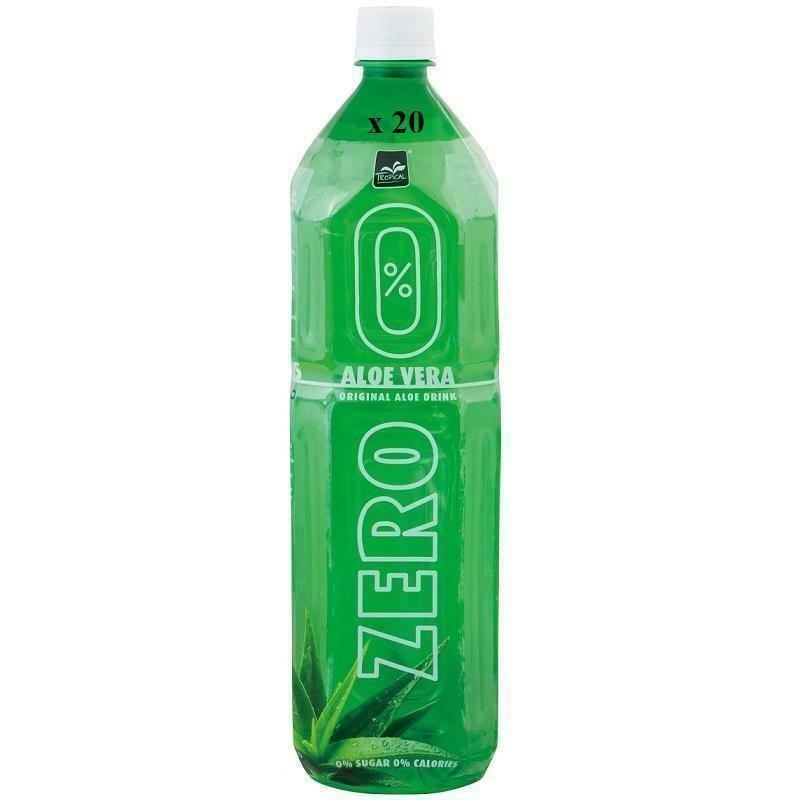 tropical tropical original aloe vera zero confezione da 12 bottigliette