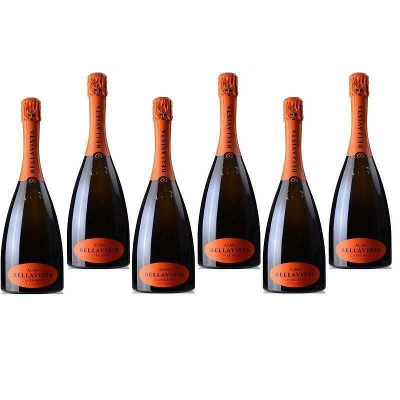 bellavista bellavista alma gran cuvee brut docg franciacorta 6 bottiglie da 75 cl