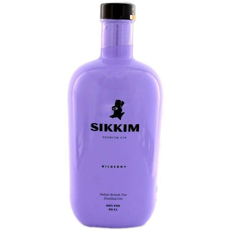 sikkim sikkim bilberry premium gin 70 cl