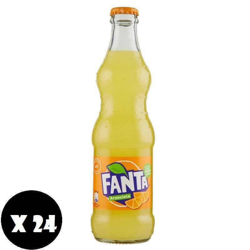 fanta fanta aranciata classica in vetro 33 cl 24pz
