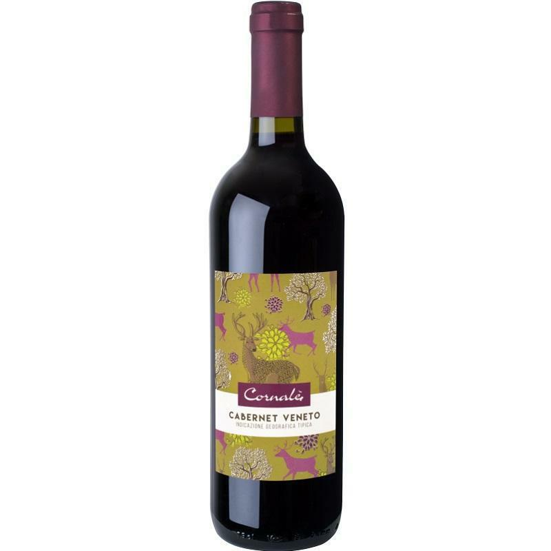 casa vinicola bennati casa vinicola bennati cornalei cabernet veneto igt 2019 75 cl
