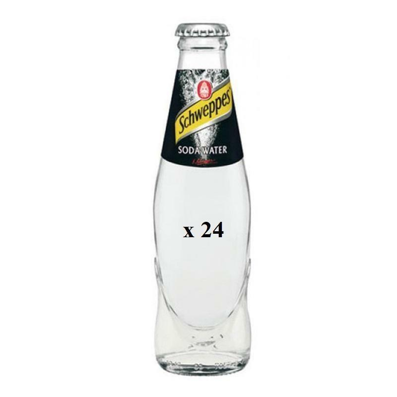 schweppes schweppes soda water 0,180 ml 24pz