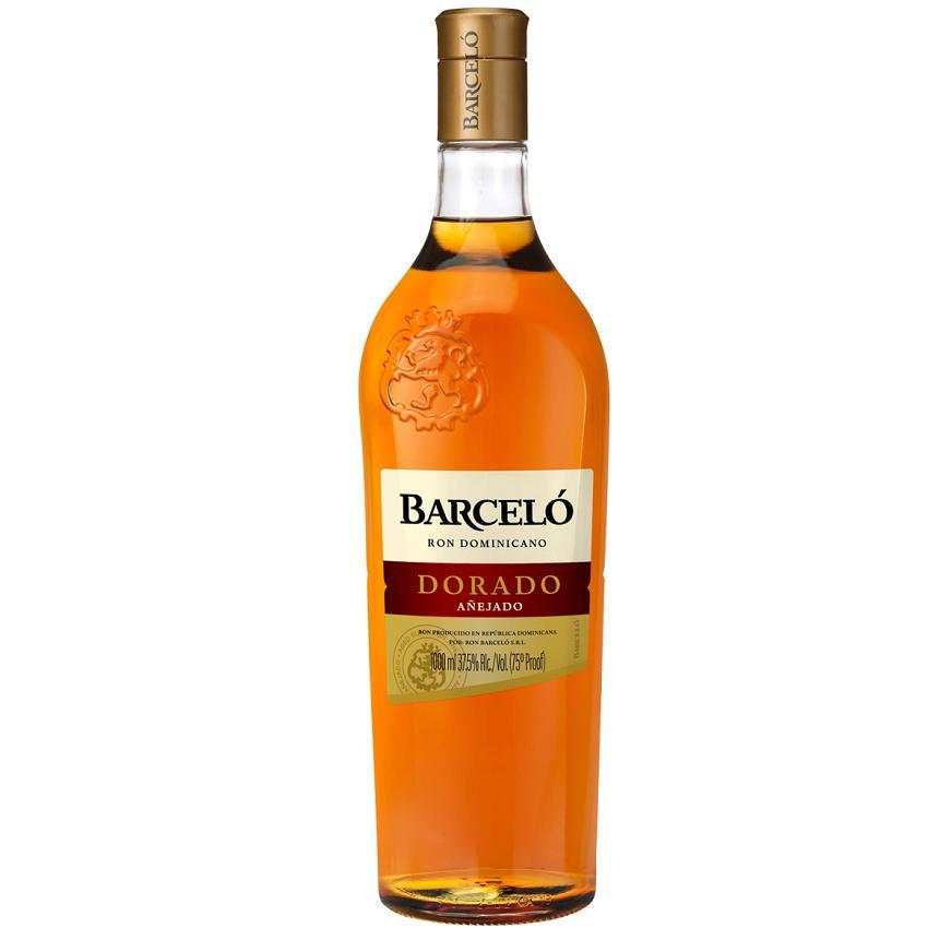 barcelo barcelo ron dominicano dorado 1 litro