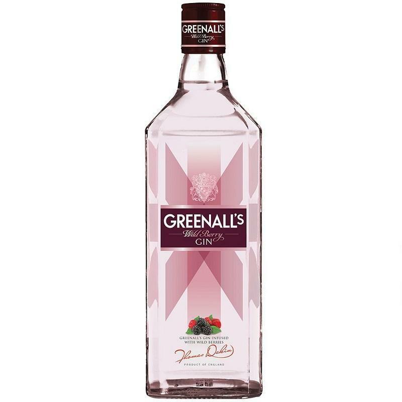 greenall's greenall's gin wild berry 70 cl